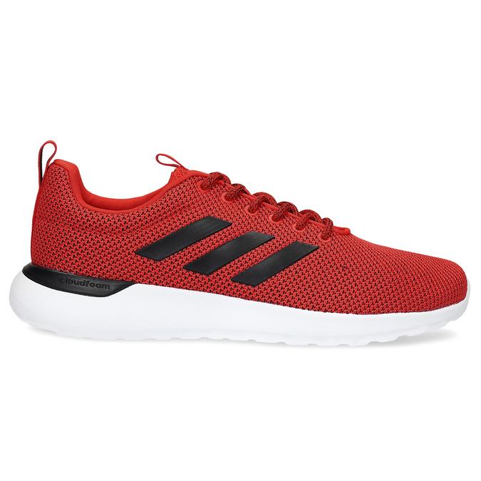 Pánske červené tenisky s čiernymi detailmi adidas, červená, 809-5127 - 19