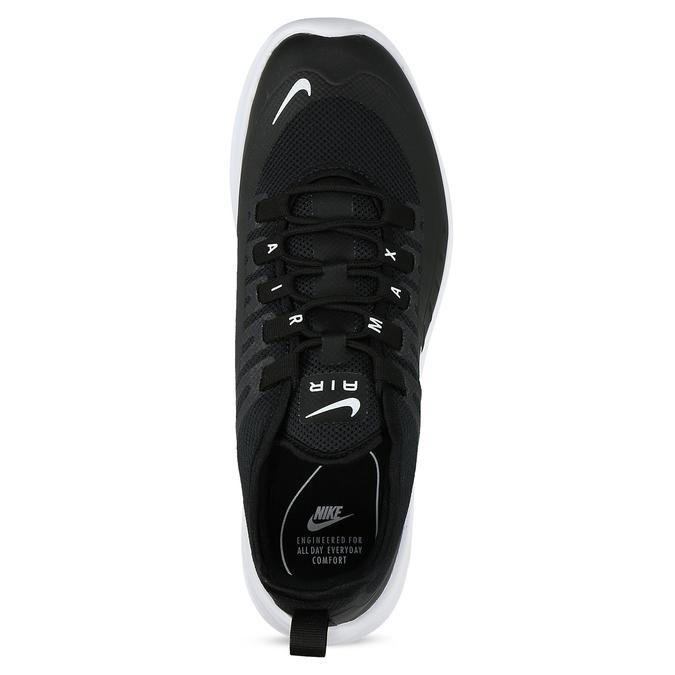 Čierne pánske tenisky sperforáciou nike, čierna, 809-6134 - 17