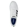 Ležérne pánske tenisky biele adidas, biela, 801-1136 - 17