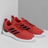 Pánske červené tenisky s čiernymi detailmi adidas, červená, 809-5127 - 26