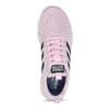 Ružové dámske tenisky s bielou podrážkou adidas, ružová, 509-5102 - 17