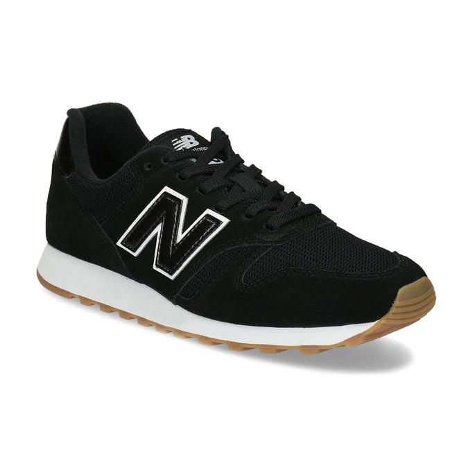 Čierne dámske kožené tenisky new-balance, čierna, 503-6114 - 13