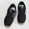 Čierne dámske kožené tenisky new-balance, čierna, 503-6114 - 16