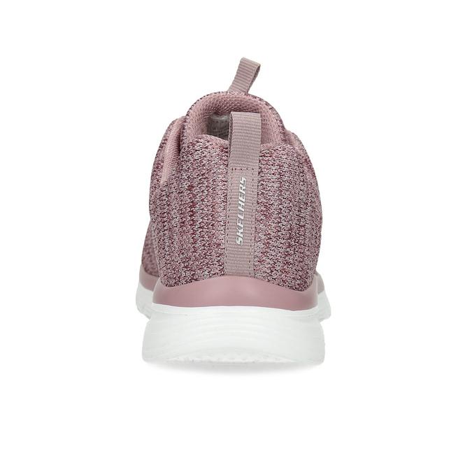Dámske ružové tenisky so žíháním skechers, ružová, 509-5164 - 15