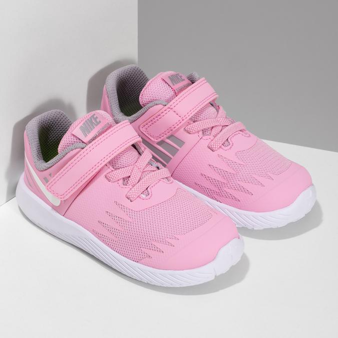 Svetloružové športové detské tenisky nike, ružová, 109-5259 - 26