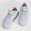 Šedo-ružové športové tenisky nike, šedá, 309-1211 - 16
