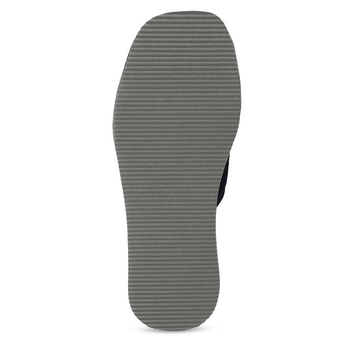Pánska domáca obuv bata, modrá, 879-9606 - 18