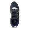 Modré tenisky s prešitím detské mini-b, modrá, 319-9163 - 17