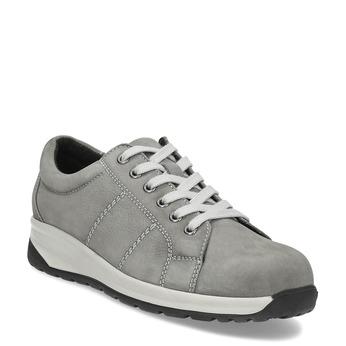 881a127516fbf Dámske kožené šedé tenisky comfit, šedá, 546-2600 - 13