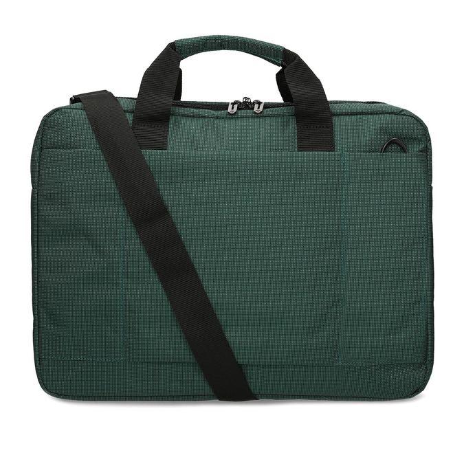 Zelená cestovná taška s popruhom samsonite, zelená, 960-7068 - 16