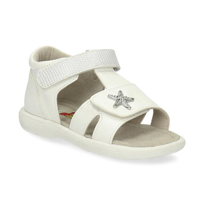 08393c85b Biele detské sandále so striebornou hviezdou bubblegummers, biela, 161-1611  - 13