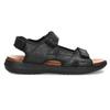 Pánske sandále kožené comfit, čierna, 864-6732 - 19