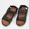Pánske sandále kožené comfit, čierna, 864-6732 - 16