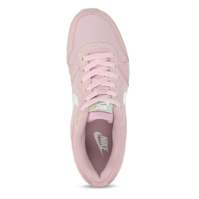 Ružové dámske tenisky v mestskom štýle nike, ružová, 509-5105 - 17