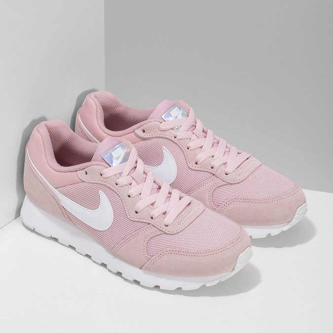 Ružové dámske tenisky v mestskom štýle nike, ružová, 509-5105 - 26