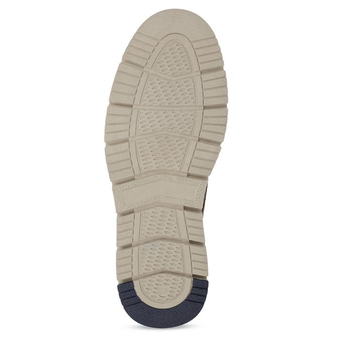 Hnedá pánska kožená členková obuv weinbrenner, hnedá, 846-4658 - 18