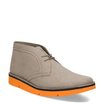 Členková pánska obuv v štýle Desert Boots bata-b-flex, šedá, 899-8600 - 13