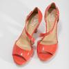 Korálové dámske sandále s asymetrickým remienkom insolia, červená, 761-5600 - 16