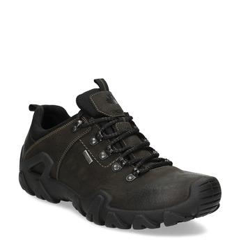 Pánska kožená obuv v Outdoor štýle weinbrenner, hnedá, 846-4722 - 13