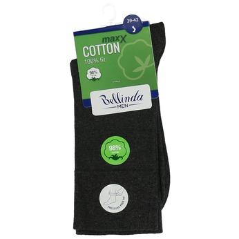 Tmavošedé pánske bavlnené ponožky bellinda, šedá, 919-2714 - 13