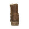 Hnedá detská kožená členková obuv bullboxer, hnedá, 323-3602 - 15
