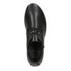 Členková čierna kožená dámska obuv comfit, čierna, 594-6707 - 17