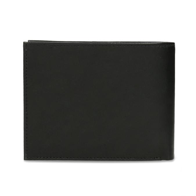 Pánska kožená peňaženka bata, čierna, 944-6171 - 16