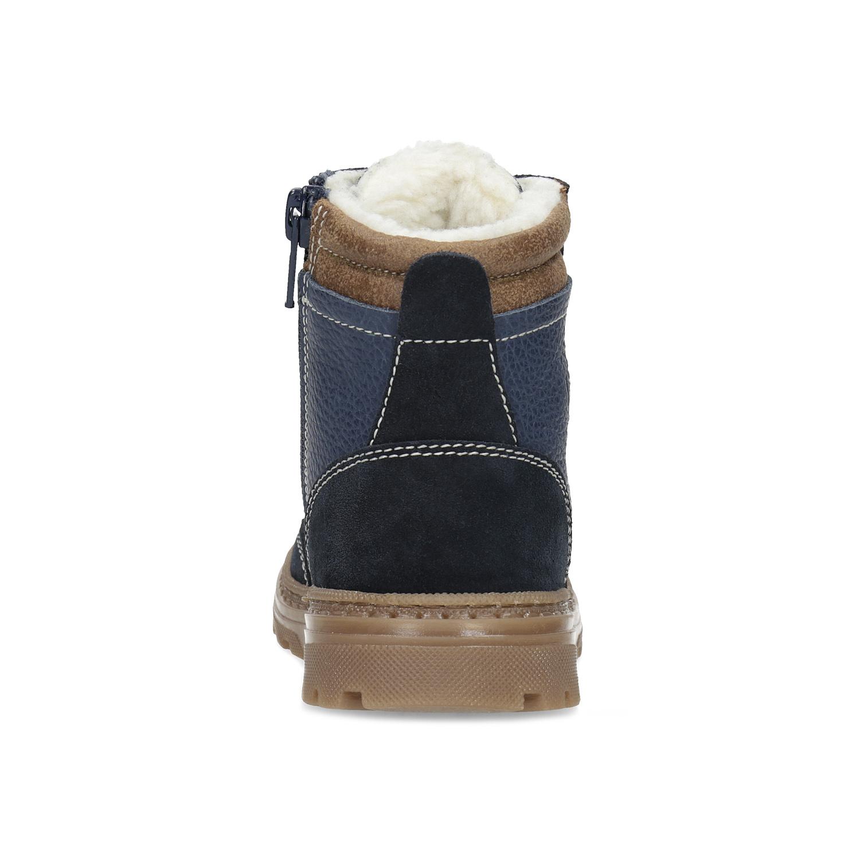 8da5d9197 ... Detské modré kožené zimné topánky mini-b, modrá, 294-9601 - 15 ...
