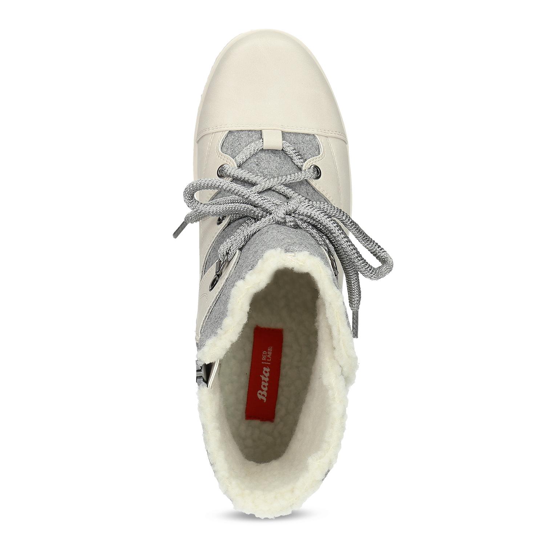 Bata Red Label Dámska zimná obuv s kožúškom - Zľavy  ce6fb67de97