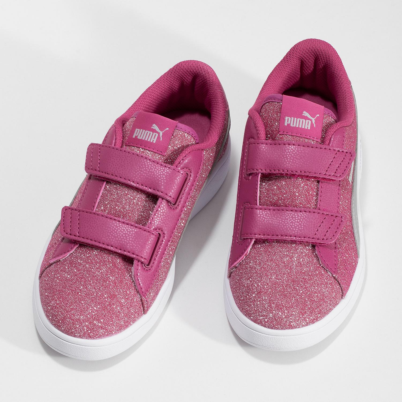 5516cd0151f7a ... Ružové detské tenisky na suchý zips puma, ružová, 301-5224 - 16 ...